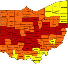 Radon Facts — Ohio Radon Levels by County